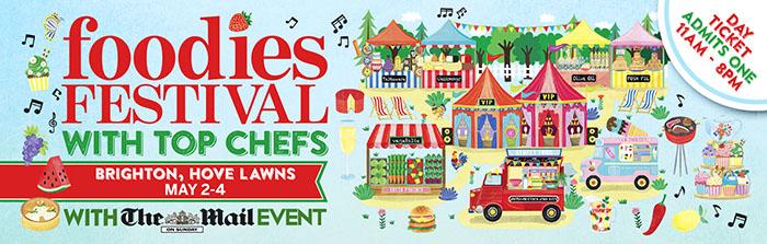 2015 edinburgh foodies festival illustration