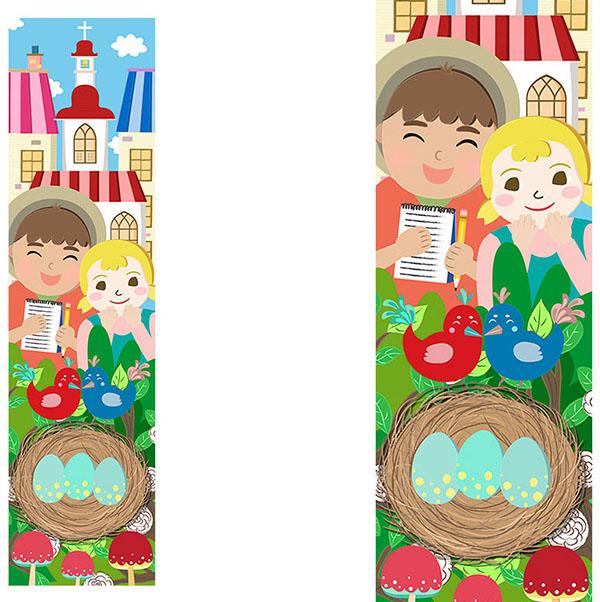 st columba school illustration
