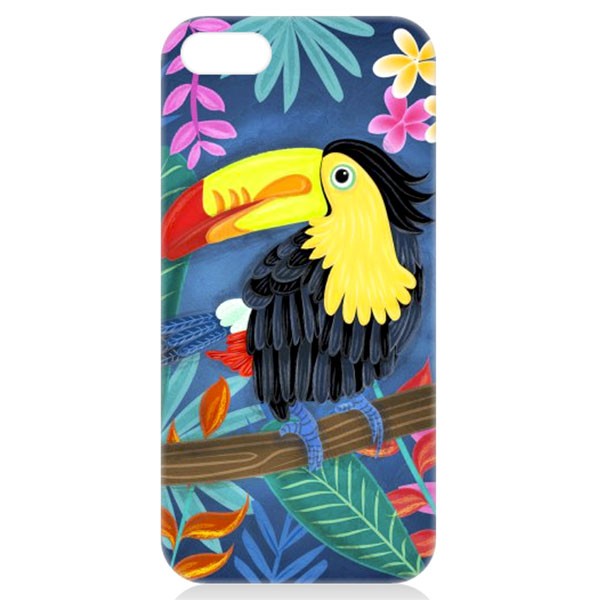 toucan phone case illustration