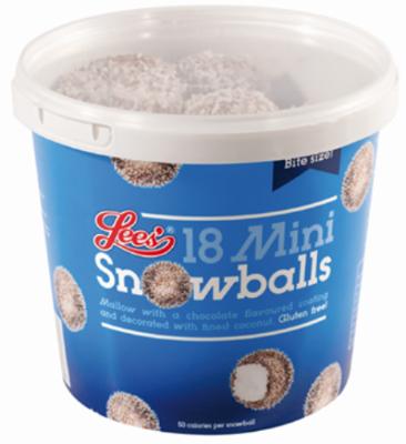 Lees Food Snowball Illustration