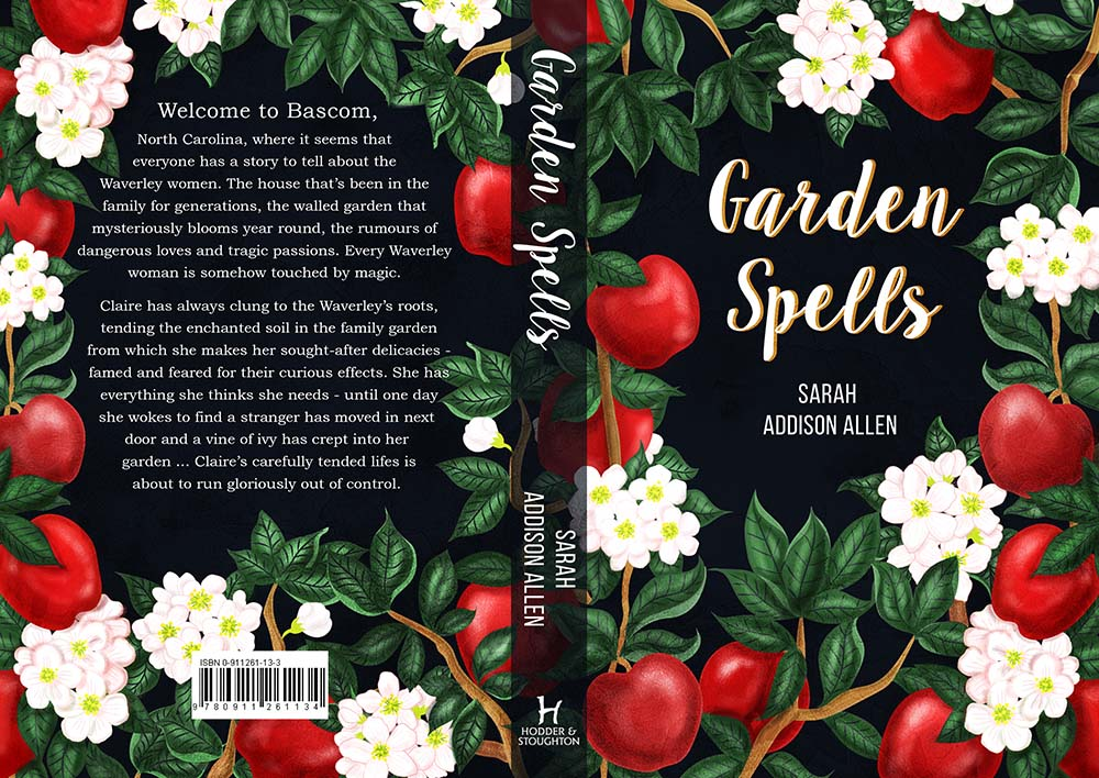 Garden Spells Book Cover Illustration