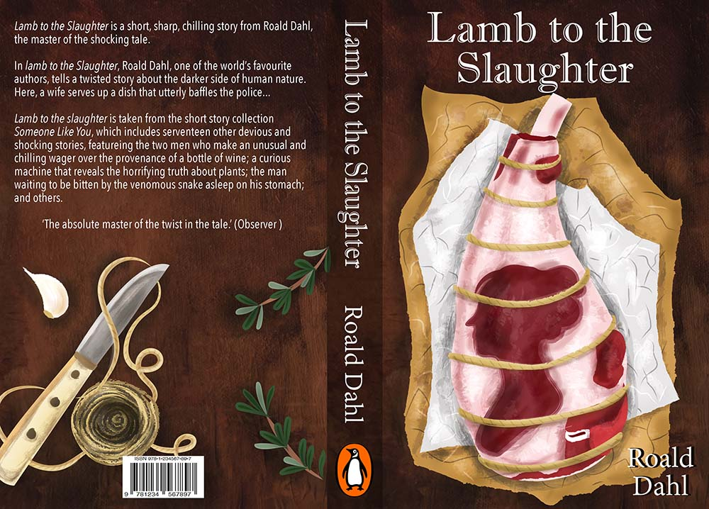 Lamb to the Slaughter Book Cover Illustration