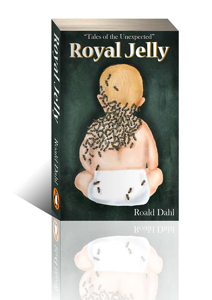 roald dahl royal belly book cover illustration