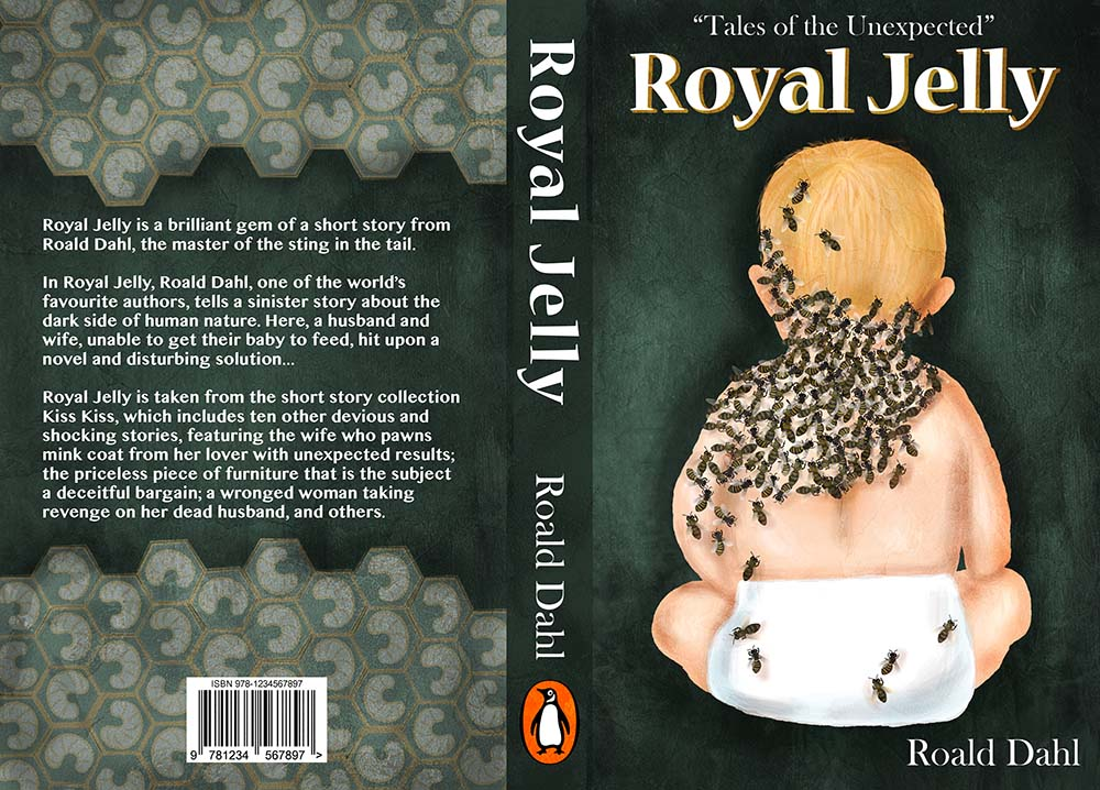 Royal Jelly Book Cover Illustration