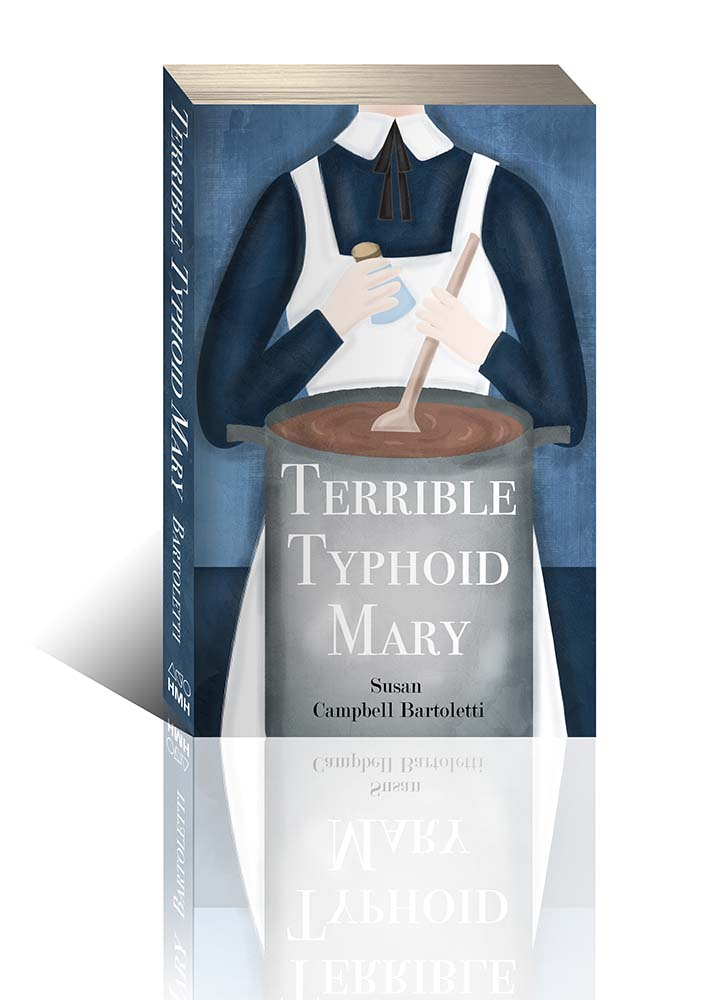 terrible typhoid mary book cover illustration