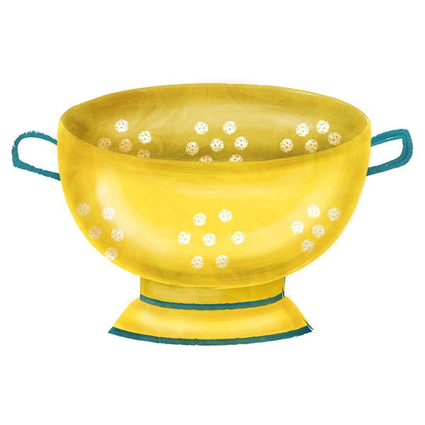 colander illustration