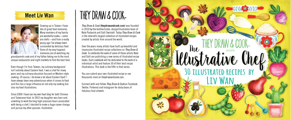 the illustrative chef book cover