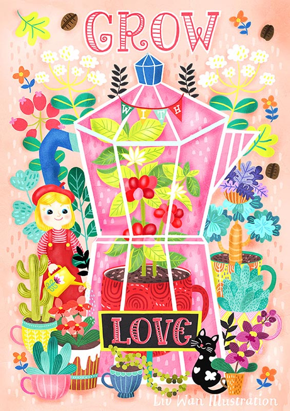 grow with love poster
