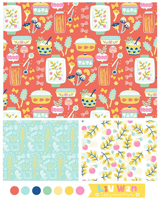 bolt fabric pattern design