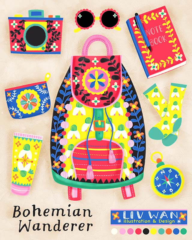 bohemian wanderer products