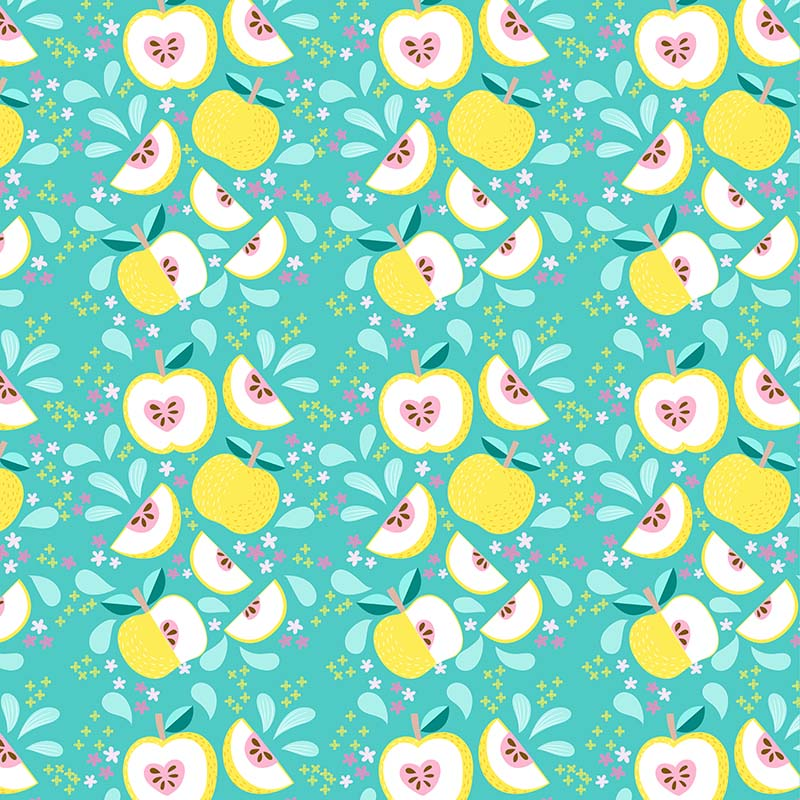 sweet asian pear pattern