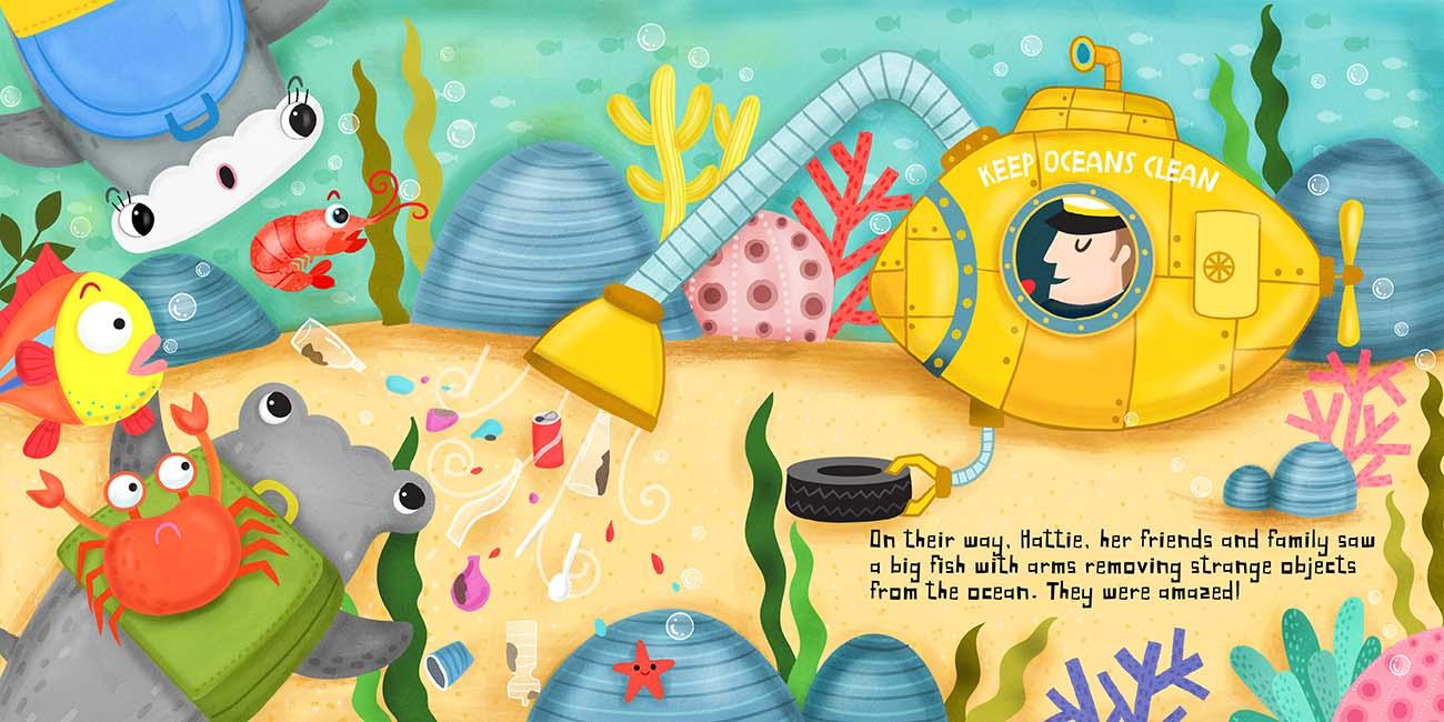 childrens shark book