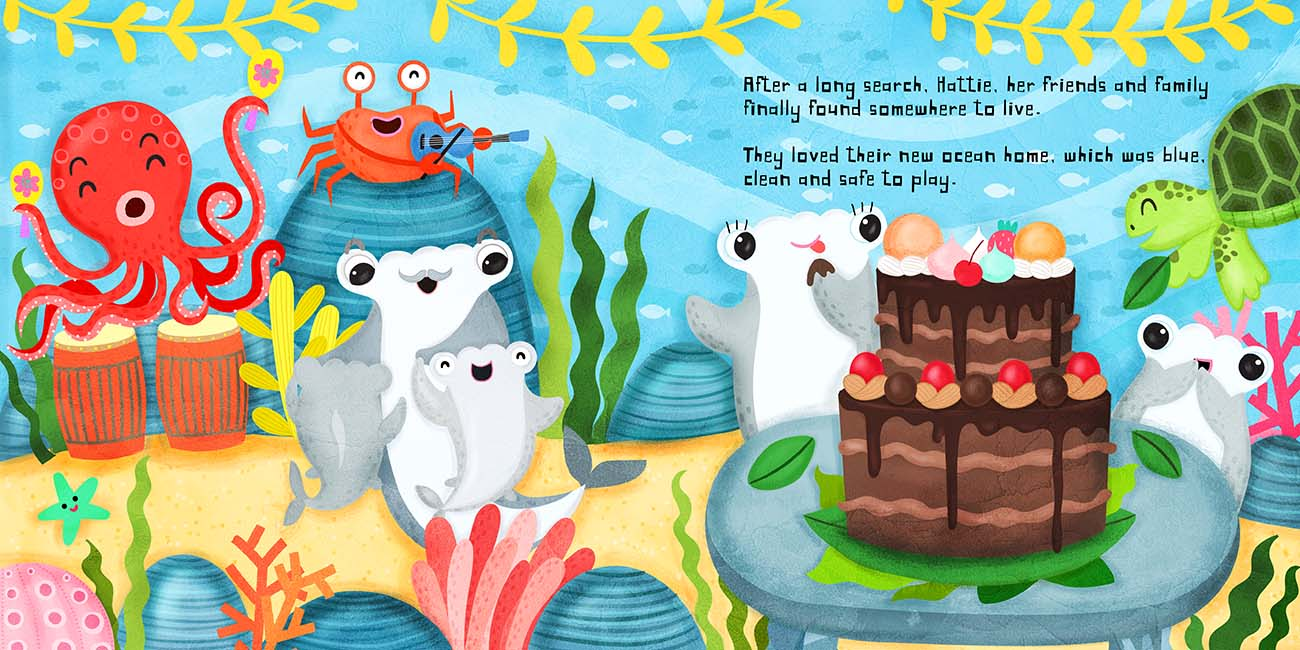 childrens shark book