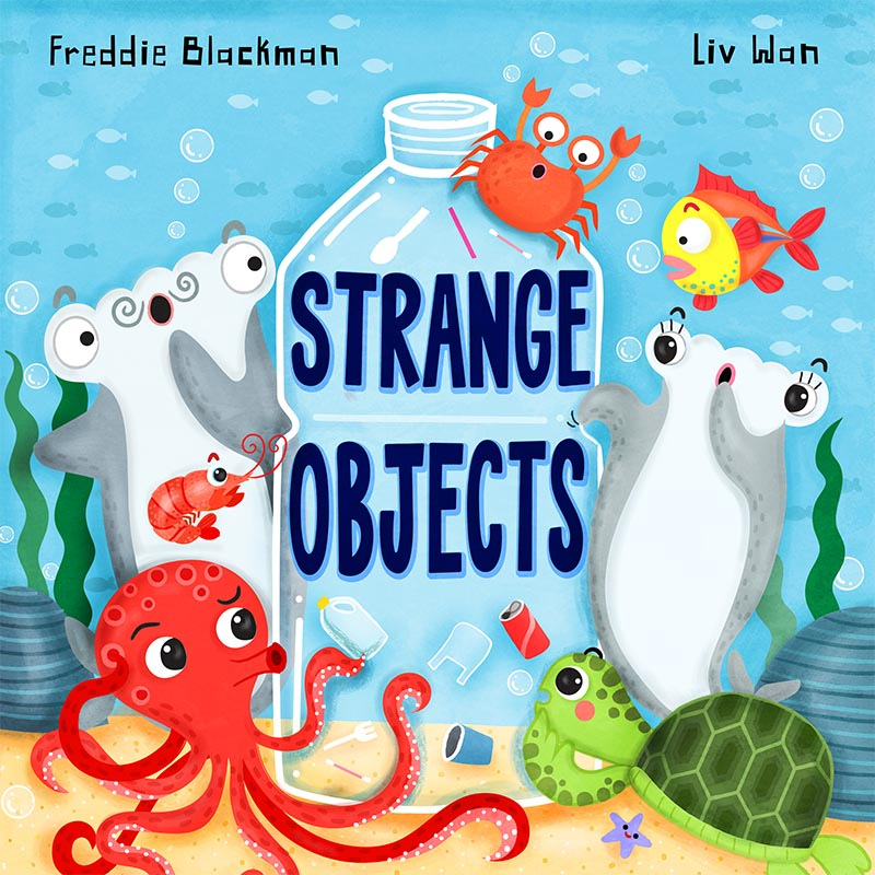strange objects cover