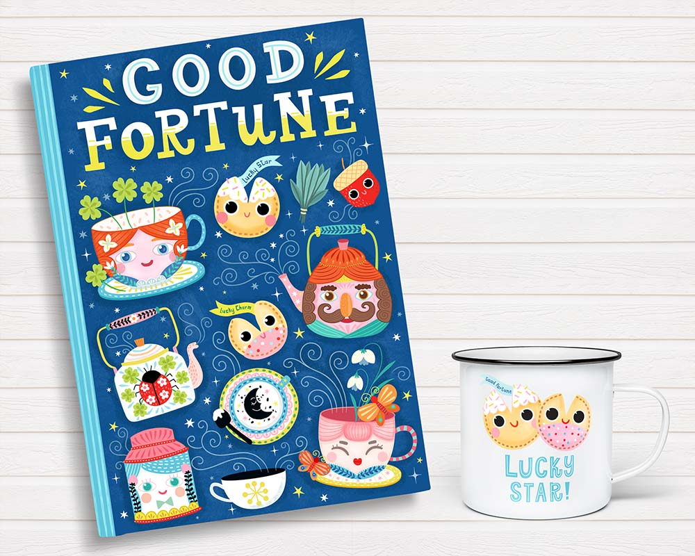 good fortune journal design