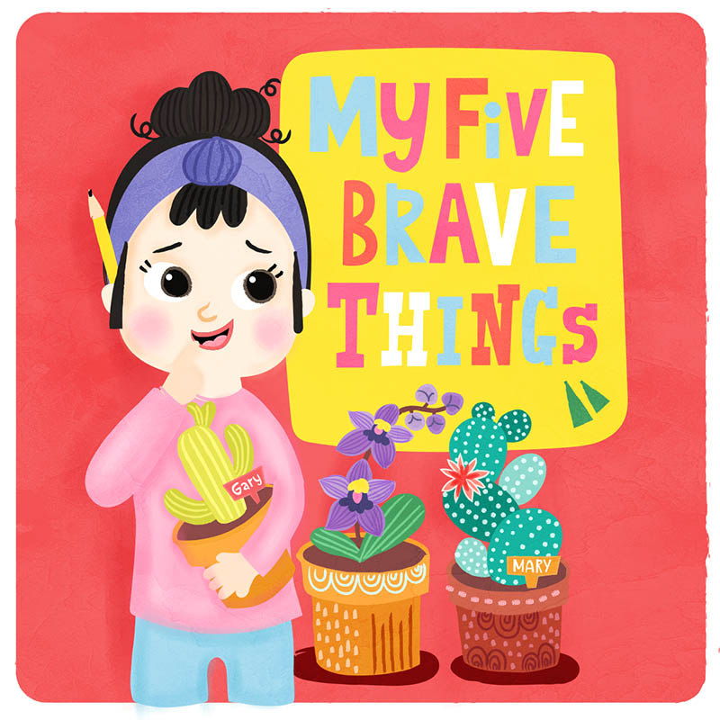 five brave facts illustration
