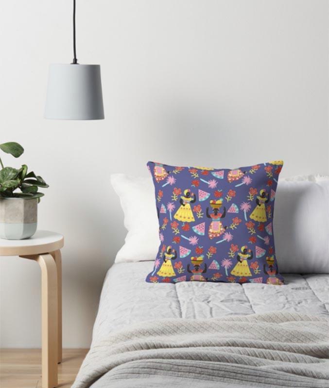 cuban mojito cushion
