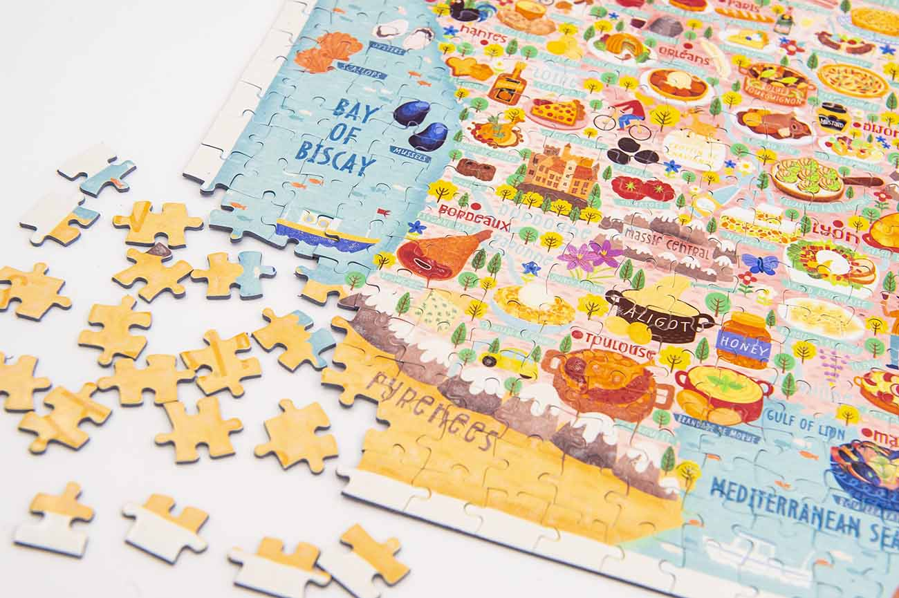 france map jigsaw puzzle