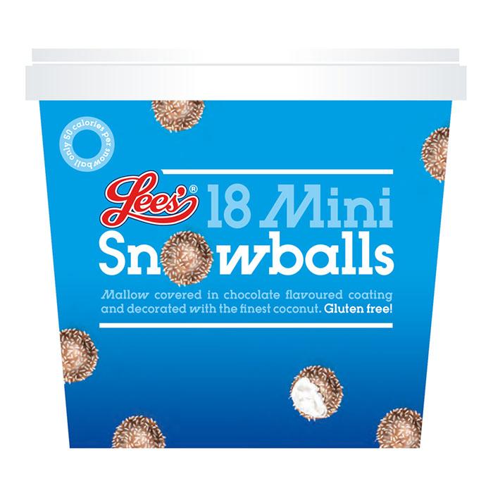 Mini Snowball Illustration