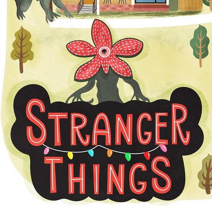 stranger things map