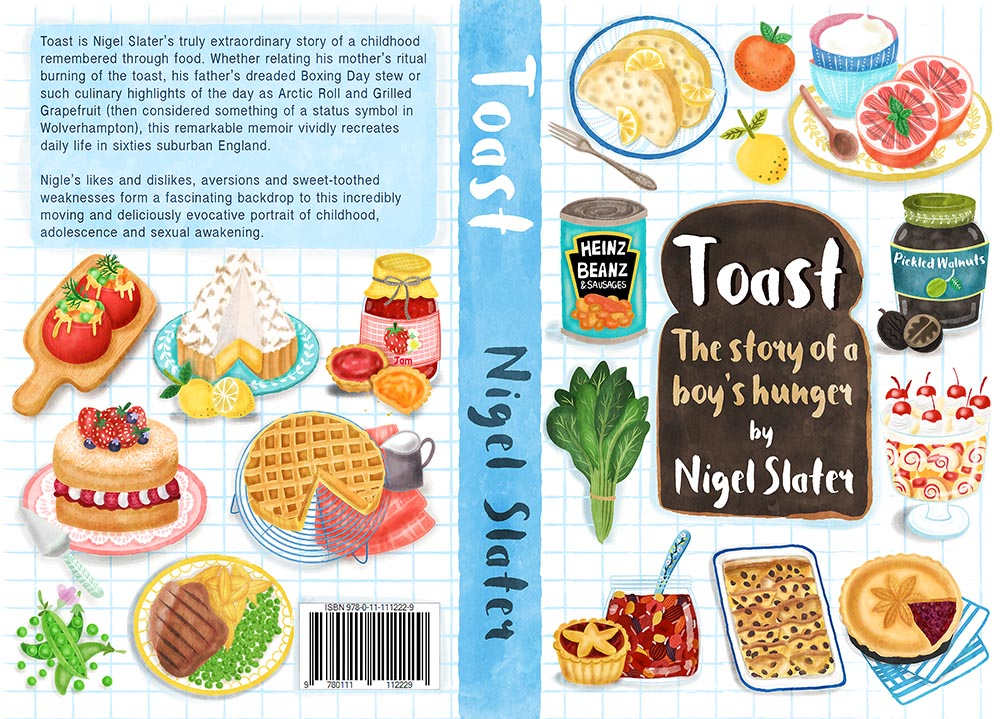 Nigel Slater Toast Book Cover Illustration
