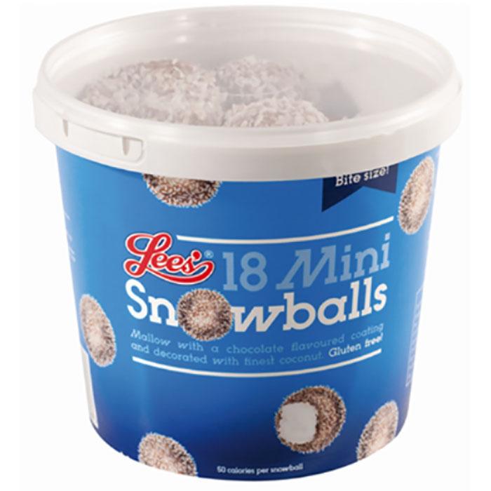 lees food scotland mini snowballs illustration