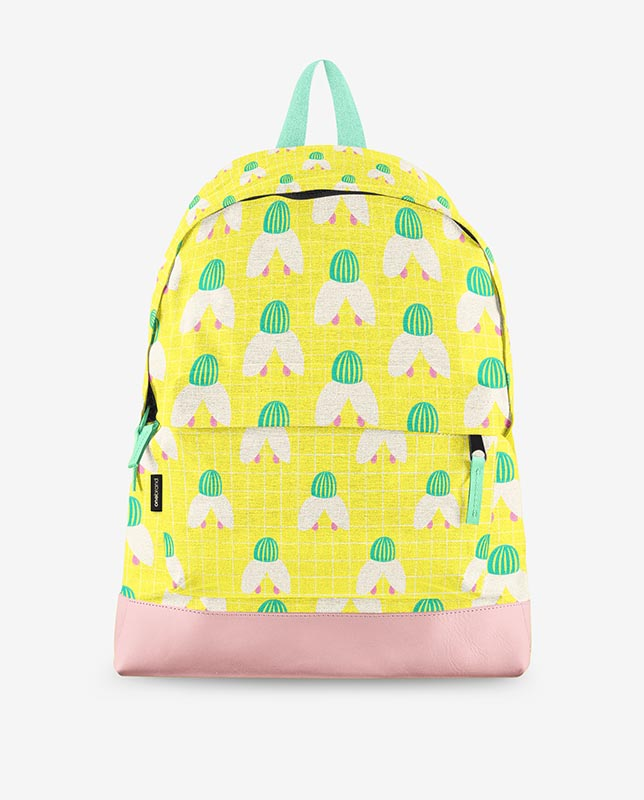snowdrop pattern backpack