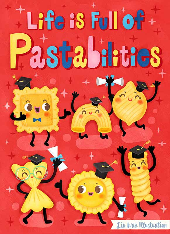 pastabilities card design