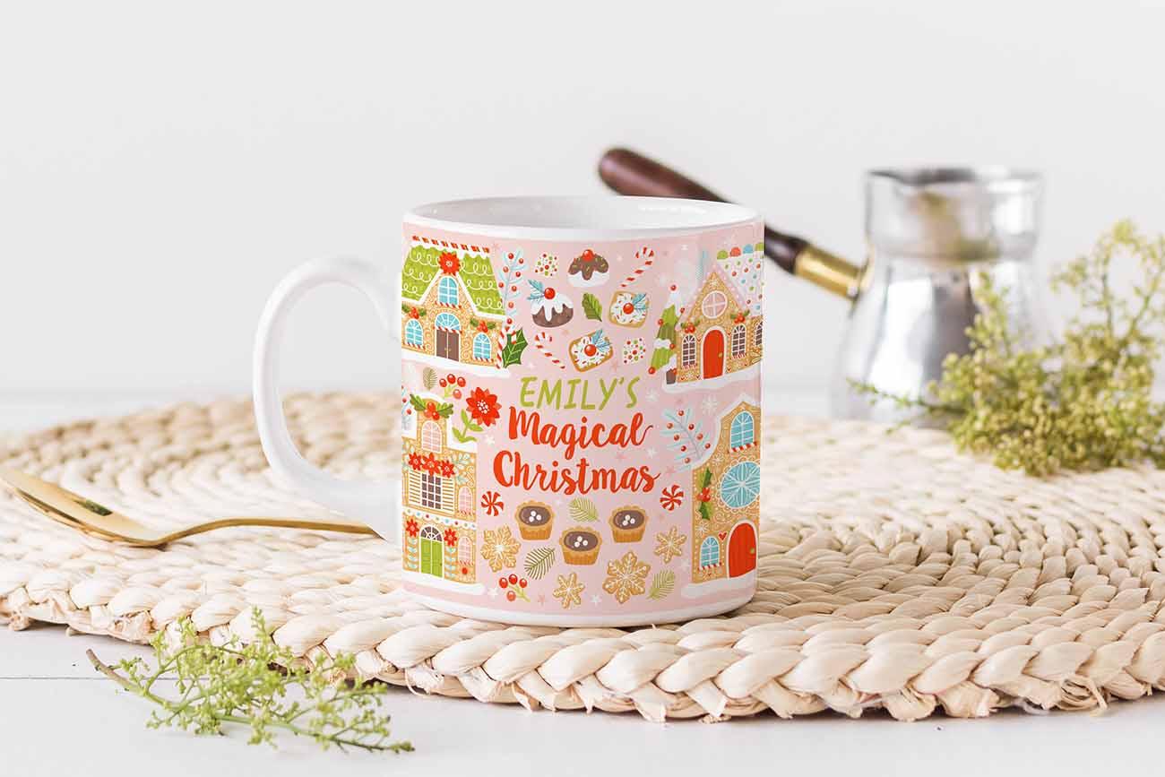 magical xmas mug design