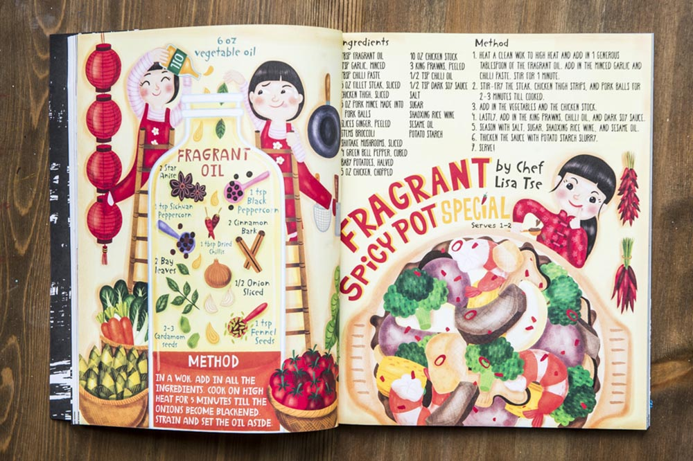the illustrated wok cookbook