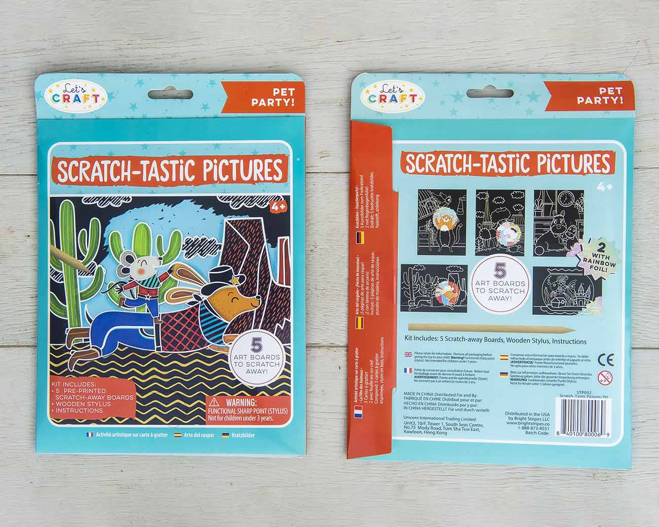 lets craft scratch tastic pictures
