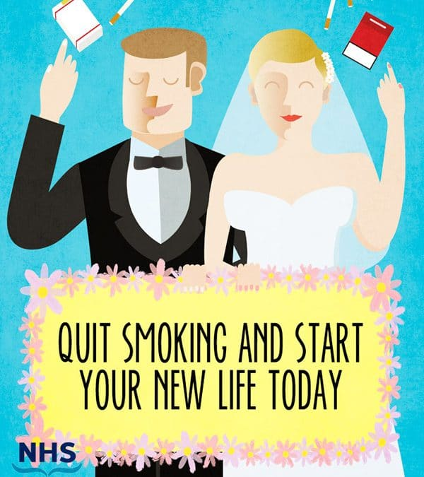 NHS Stop Smoking Poster