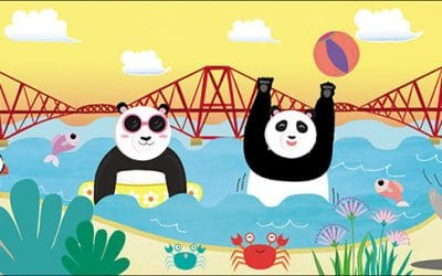 Edinburgh Panda Book Illustrations