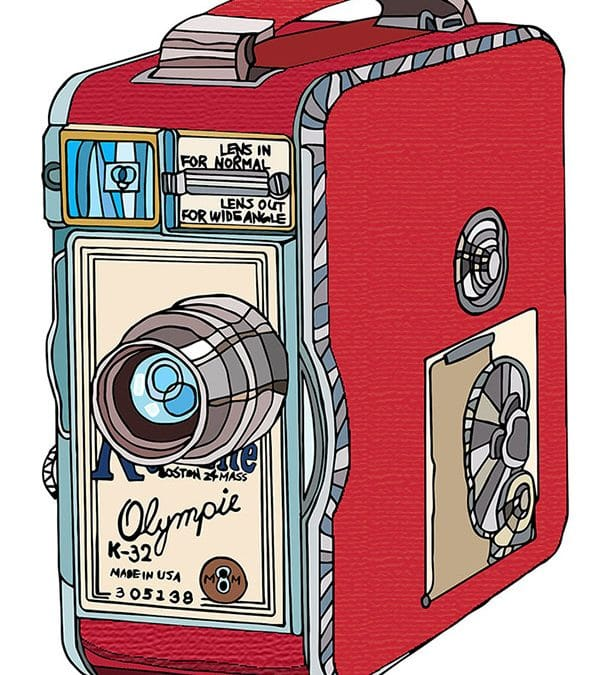 Video Camera Illustrations