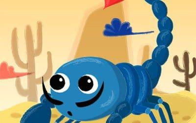 Creepy Crawly Creatures Illustrations
