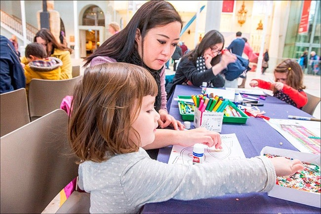 Christmas Craft Activity National Museum of Scotland
