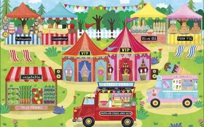 Foodies Festival 2015 Illustrations