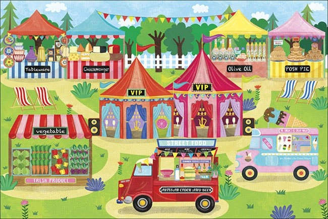 Foodies Festival 2015 Illustrations