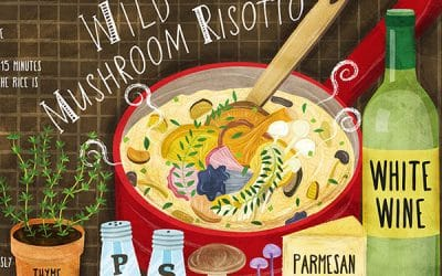 They Draw and Cook Recipes Illustrations