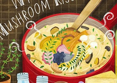 They Draw and Cook Recipe Illustrations