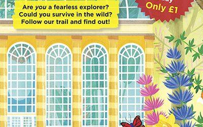 Royal Botanic Garden Edinburgh Survival Trail Illustrations