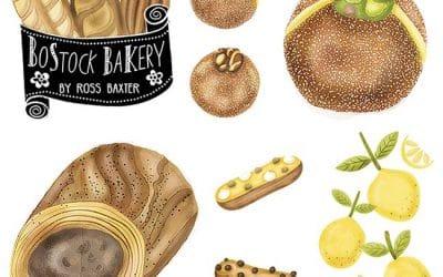 Bostock Bakery Edinburgh Illustrated Food Guide