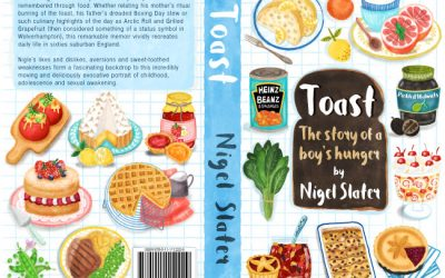 Nigel Slater Toast Book Cover Design