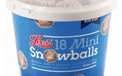 Lees Food Mini Snowball Illustrations