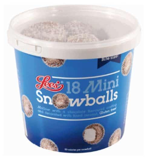 Lees Food Mini Snowball Illustrations