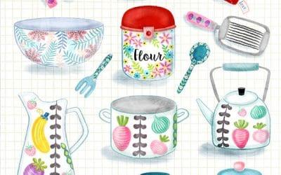 Kitchenwares Illustrations