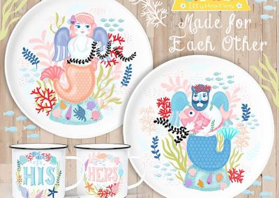 Mermaid Kitchenware