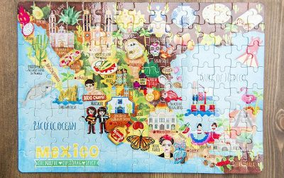 Illustrated Map Jigsaws