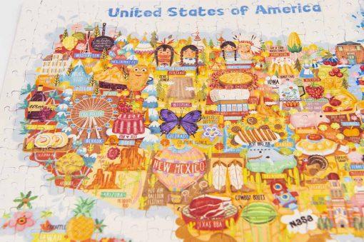 usa map jigsaw puzzle
