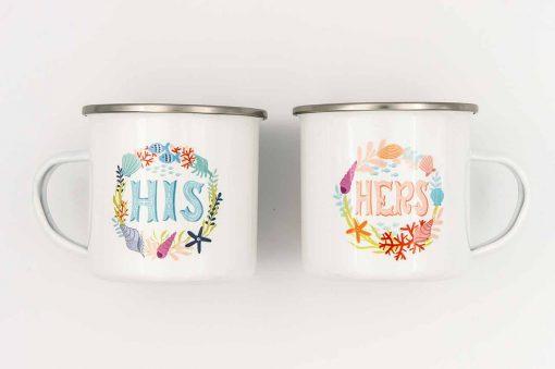 his hers mug